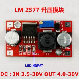 Alimentatore convertitore varriabile DC- DC LM2577 step up 3A ARDUINO