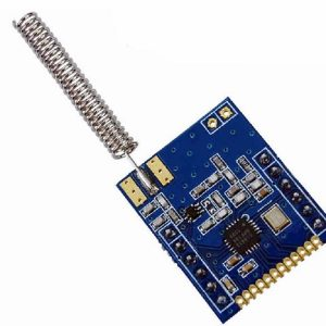 SI4432 470MHz 1000M Modulo Wireless 470M 433MHz Digitale con antenna