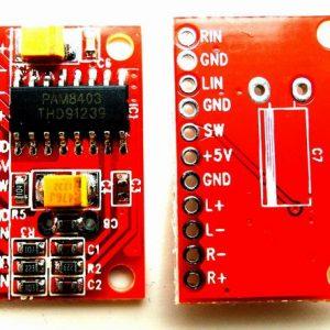 Mini Digitale Scheda di amplificazione, Scheda di amplificazione, USB-powered, high power 3W dual channel