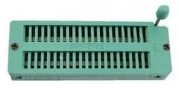 3MM40P gold-plated locking seat 40P locking IC Block, 40PIC Test Block