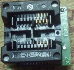 SOP8 to DIP8 Adattatore seat wide-body , (Remarks Plastic width 5.2) IC Test Socket, conversion seat