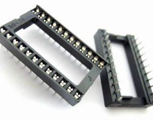 6 Pezzi 24P Wide IC socket