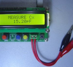 LC100-S, inductance table, capacitance meter, inductance capacitance meter