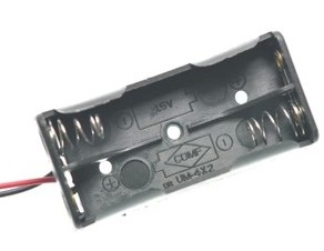 2 slot AAA contenitore batterie