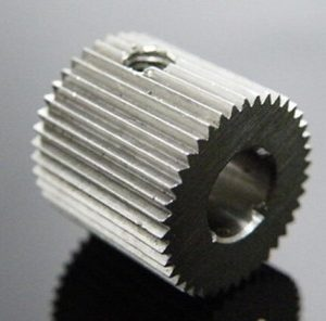 outside diameter:12mm Hole:5mm 40 Tooth MK7/MK8 Stainless steel Wire Feed Gear per Stampante 3D/Estrusore