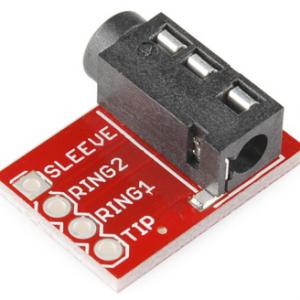 TRRS 3.5mm Stereo Headphone MP3 Audio Video Microfono Block Interfaccia Modulo