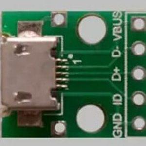 MICRO USB To DIP 5Pins