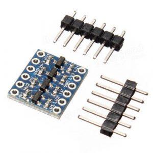 6 canali IIC I2C Logic Level Convertitore Bi-Directional Modulo 5V to 3.3V per Arduino
