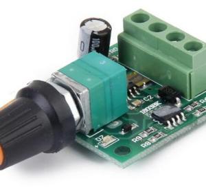 Low Voltaggio DC 1.8V 3V 5V 6V 12V 2A Motore Speed Controller PWM