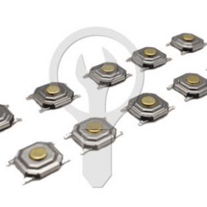 50 Pezzi SMD Interruttore Push bottone 5.2*5.2*1.5MM
