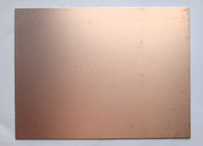 Single Size 7*10CM Fiberglass Laminate FR4 Copper Clad Circuit Board PCB Thick 1.5
