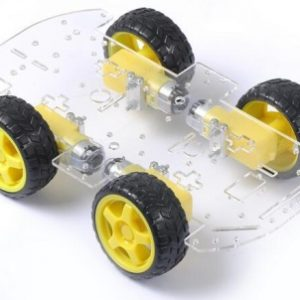 Telaio Suspension Damping Velocity Tracking Evitamento Ostacolo Robot Patrol Line Remote Investigation