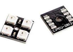 1 Pezzi CJMCU2814 WS2812B 2*2 4 Pezzi RGB LED
