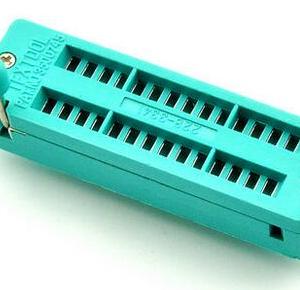228-3341 28-pin narrow zif test socket