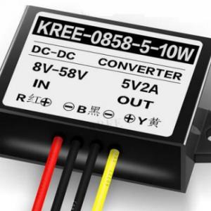 KREE-0858-5-10W DC-DC Convertitore 8V-58V to 5V 2A