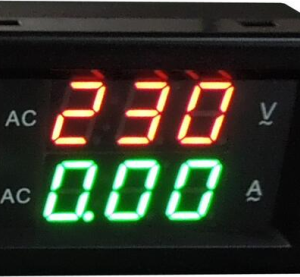 YB4835VA 500V 50A Stationary Dual LED Voltmetro Amperometro Digitale