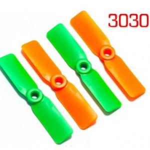 3030*2 Eliche 2 Pezzi CW + 2 Pezzi CCW Green and Orange