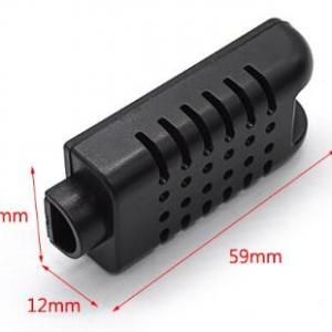 Umidità in the plastic wall abs plastic case housing electronic circuit box Del Sensore 59x26x12mm