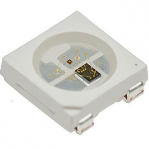 4 Pezzi WS2812B RGB SMD 5050 SOP 4 PIN LED con integrato controller DC 5V