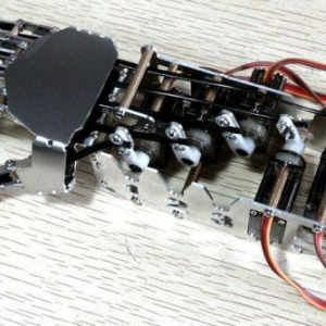 Right Hand 5-DOF Robot Hand Fingers ( Have not assembly , need assembly by self)