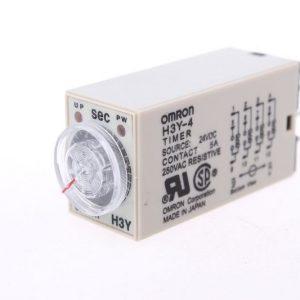 OMRON H3Y-4 Relè a tempo 0-60 secondi 24V DC 5A 250VAC resistivo timer relè temporizzatore