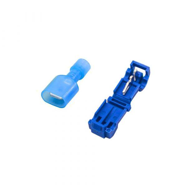 20 pezzi Morsetti rapidi rubacorrente ruba corrente serracavo 15A 2.5mmq