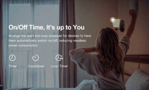 SONOFF MINI WiFi Smart Switch Timer Modulo 10A 2 Vie Interruttore di Sostegno APP/LAN/Voice Telecomando DIY smart Home