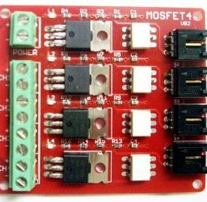 Pulsante MOSFET a 4 rotte IRF540 V2.0 + modulo interruttore MOSFET