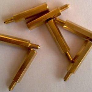 Colonne a vite esagonale filettate in ottone da 5 pezzi 20MM + 6 M3