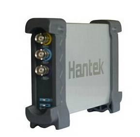 Oscilloscopio digitale USB 2CH Hantek 6022BE basato su PC Larghezza di banda 20 MHz 48 M Sa / s 1 M