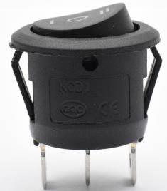 2 interruttori a bilanciere a 3 pin SPST ON OFF ON 3 Pulsante cambio KCD1-105 Interruttore