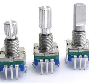 EC11 20punti 20mm 5 pin Codificatore / interruttore di codifica / potenziometro digitale audio