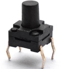 5 pezzi 6 * 6 * 10 interruttore tattico / interruttore tattico impermeabile / interruttore tachimetro
