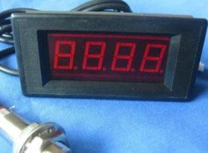Tachimetro RPM Speed Meter + sensore di prossimità Hall NPN