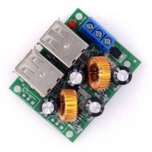 36/24/12 / 9 V a 5 V / 3 A step-down / 4 USB ultra-multi interfaccia USB / ricarica auto solare